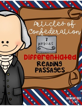 Articles of Confederation Differentiated Reading Passages