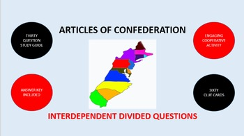 Articles of Confederation: Interdependent Divided Question