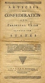 Articles of Confeederation, Song and Lesson Packet, by His