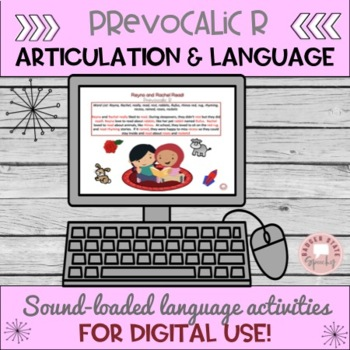 Articu-lang:  Prevocalic R, For Mixed Groups