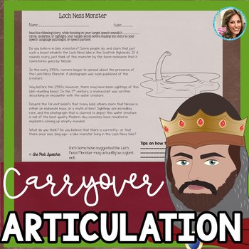 Middle School Articulation Carryover