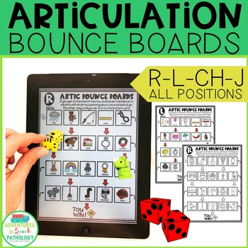Articulation Bounce Boards for R-L-CH-J
