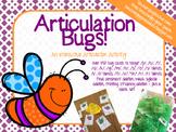 Articulation Bugs! An Interactive Articulation Activity!