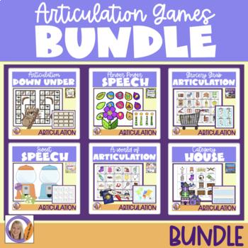 Articulation Games Bundle! 6 products in a HUGE Bundle!