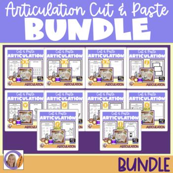 Articulation Bundle! Cut & Paste packets #2