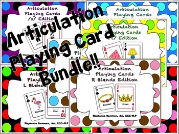 Articulation Playing Card BUNDLE!!