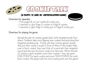 Articulation Cookie Talk
