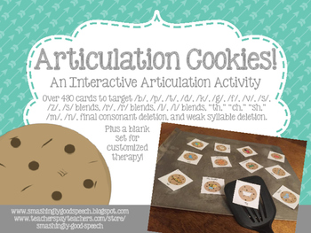 Articulation Cookies! An Interactive Articulation and Phon