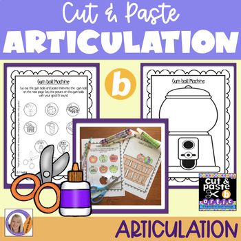 Articulation: Cut & Paste /b/