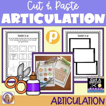 Articulation: Cut & Paste /p/