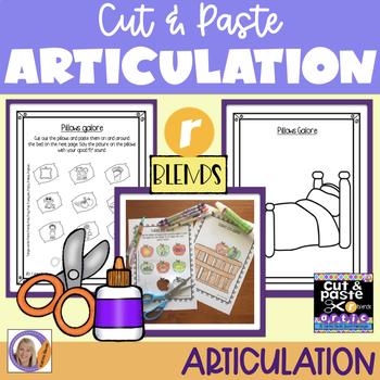 Articulation: Cut & Paste /r/ blends