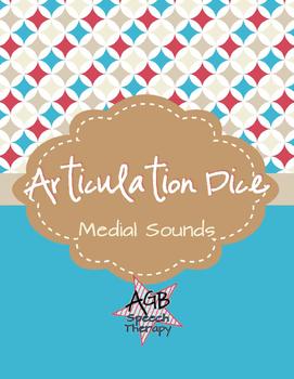 Articulation Dice - Medial Sounds