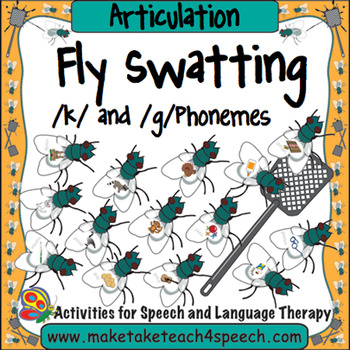 Articulation - Fly Swat!  /K/ and /G/ Phonemes