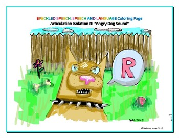 Articulation Isolation - /R/ - Growling Dog Sound Coloring