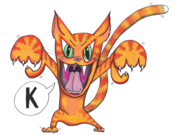 """Articulation Isolation - /k/ - """"The Angry Cat, K!"""" BUNDLE"""