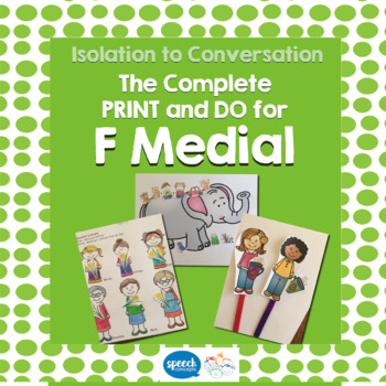 Articulation - Isolation to Conversation - F Medial