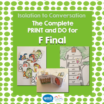 Articulation - Isolation to Conversation - F Final