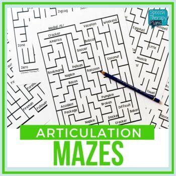 Articulation MAZES (14 Sounds)