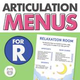 Articulation Menus for /r/