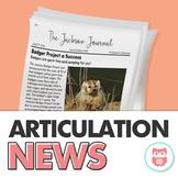 Articulation News