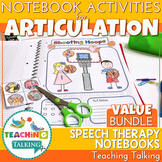 Articulation Notebooks Value Bundle - Speech Therapy