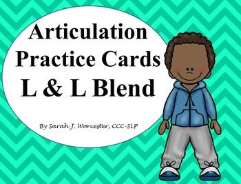 Articulation Practice Card /L/