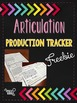 Articulation Production Tracker