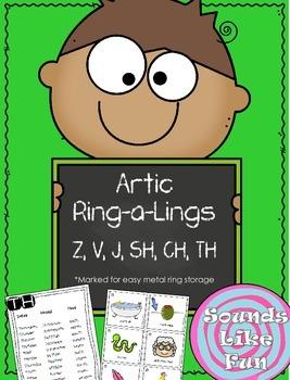Articulation Ring-a-Lings Z, V, J, SH, CH, & TH