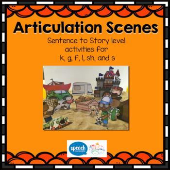 Articulation Scenes - Sound Loaded Scenes for sentences an