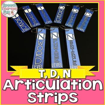 Articulation Strips - T, D, N