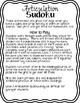 Articulation Sudoku Level 2 Bundle - No Prep Articulation