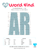 Articulation Word Search - Vocalic R Sound