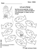 Articulation Worksheets:  Ice Fishing for J FREEBIE!