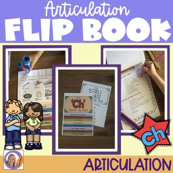 Articulation flip book- 'ch'