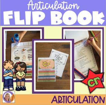 Articulation flip book- 'cr' blend