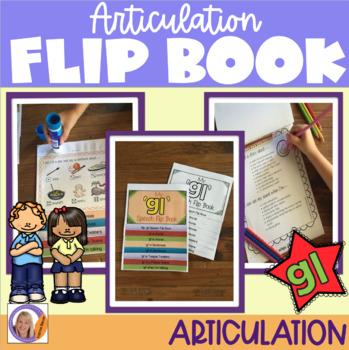 Articulation flip book- 'gl' blend