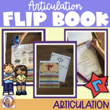 Articulation flip book- 'r'