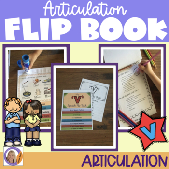 Articulation flip book- 'v'