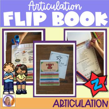 Articulation flip book- 'z'