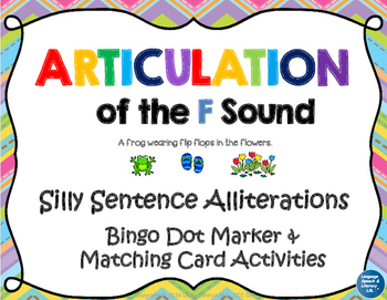 Articulation of the F Sound With Silly Sentence Alliterations