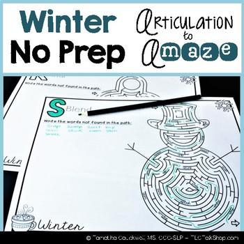 Articulation to A-Maze: Winter Edition