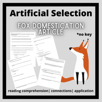Artificial Selection: Silver Fox Domestication article and