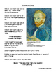 Artist Biographies, famous artwork and response activity