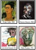 Artist Self-Portrait Cards