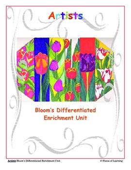 Artists - Differentiated Blooms Enrichment Unit