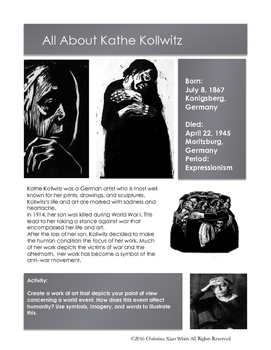 Artists- Kathe Kollwitz