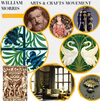 Arts & Crafts Movement ~ Art History ~ William Morris et a