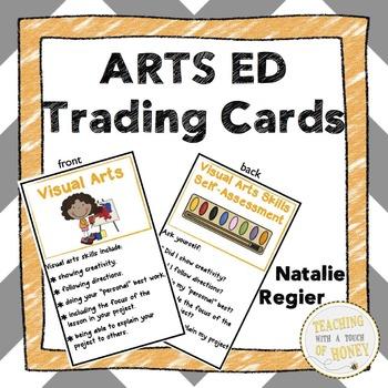 Arts Ed Trading Cards: Mini Anchor Charts and Self-Assessm