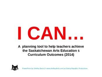 Arts Education 5 - Year Planning for Saskatchewan Teachers