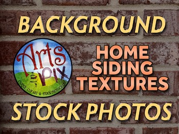 ! Stock Photos - Photographs - Home Siding Textures